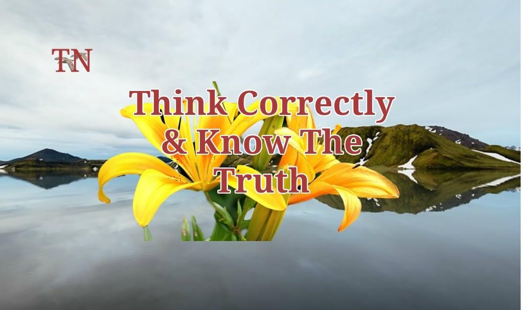Think Correctly