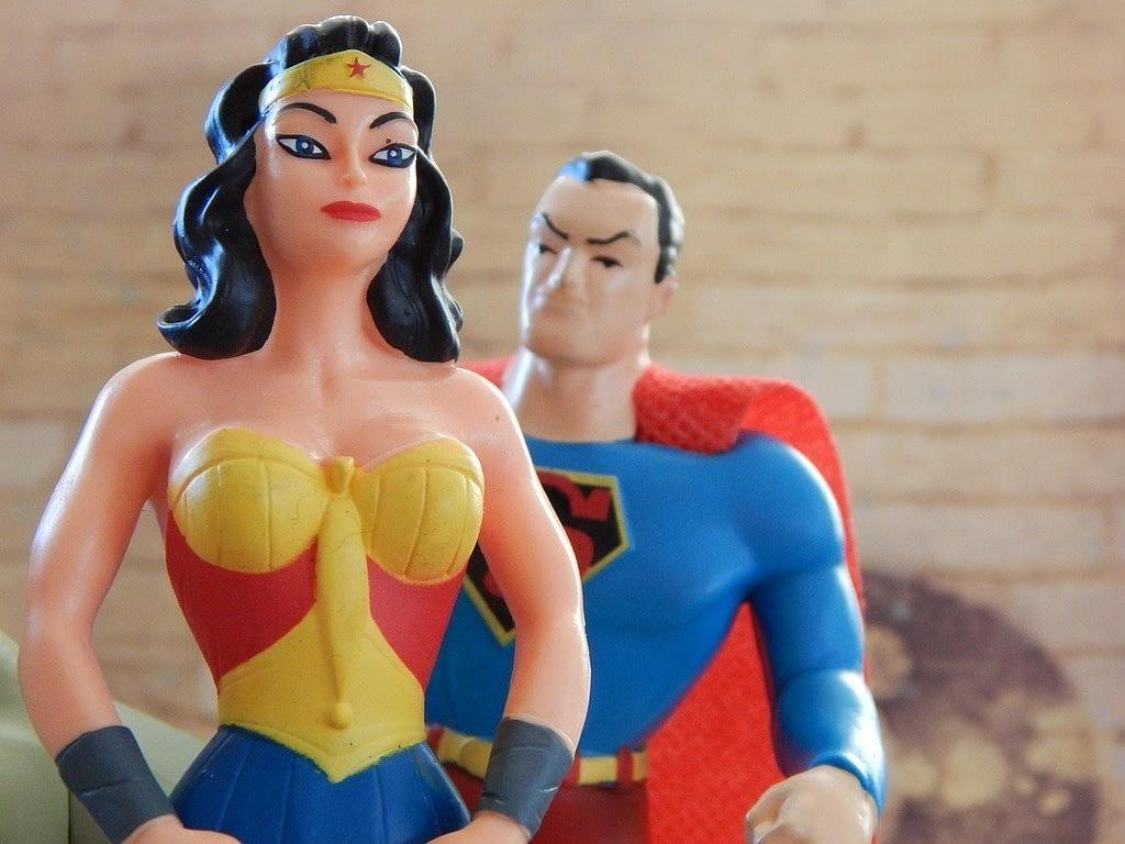 Super Hero Wonder Woman Superman