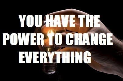 power of thought can change everything
